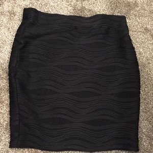 Gorgeous Fitted Very Black Pencil Skirt